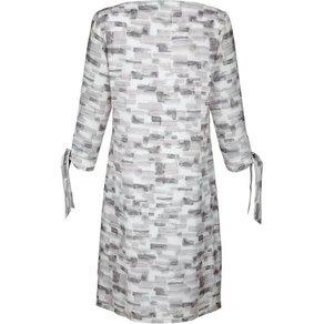 Alba Moda Kleid mit grafischem Druck allover