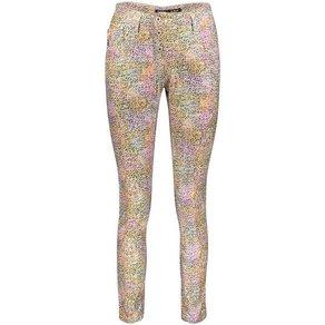 Please Jeans Röhrenhose P78A mit Rainbow-Allover-Leo-Druck