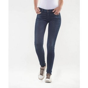 Le Temps Des Cerises Skinny-fit-Jeans ULTRAPOW in cooler Used-Waschung