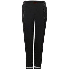 STREET ONE Jogger Pants mit Zipper-Detail und Fronttaschen