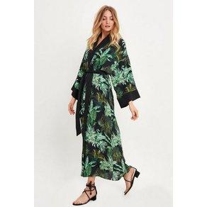 SUGARFREE Kimono-Kleid mit modischem Allover-Print