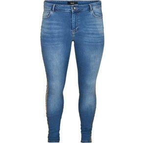 Zizzi Slim-fit-Jeans Damen Grosse Grössen Skinny Amy Jeanshose