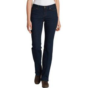 Eddie Bauer Bootcut-Jeans Jeans Stayshape Bootcut Curvy