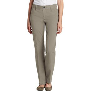 Eddie Bauer Casualpants Stayshape Straight Leg Curvy