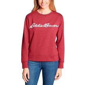 Eddie Bauer Sweatshirt Camp Fleece Logo