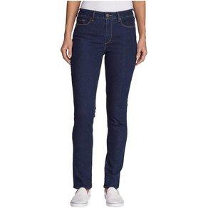 Eddie Bauer 5-Pocket-Jeans Stayshape Slim Straight Leg High Rise Slightly Curvy
