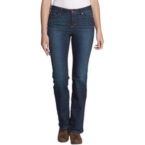 Eddie Bauer Bootcut-Jeans StayShape Bootcut Jeans -Slightly Curvy