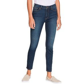 Eddie Bauer 5-Pocket-Jeans Stayshape Skinny High Rise Slightly Curvy