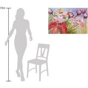 KUNSTLOFT Gemälde »Im Garten von Morgen«, handgemaltes Bild auf Leinwand