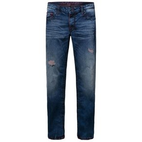 camp david CAMP DAVID 5-Pocket-Jeans CO NO mit Destroy-Effekte