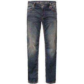 camp david CAMP DAVID 5-Pocket-Jeans CO NO Münztasche mit Ziernaht