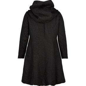 Zizzi Outdoorjacke Damen Grosse Grössen Mantel Jacke Kapuze Klassisch Wintermantel