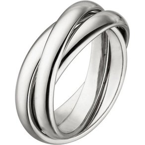 Jobo Fingerring verschlungen 925 Silber