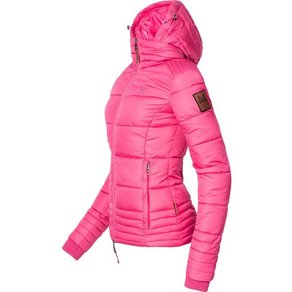 Marikoo Winterjacke Sole modisch taillierte Damen Steppjacke für den Winter