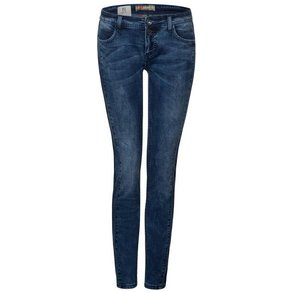 STREET ONE Comfort-fit-Jeans mit Seiteneinsatz