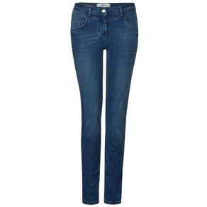 cecil Slim-fit-Jeans Charlize mit Streifen auf Seitennaht