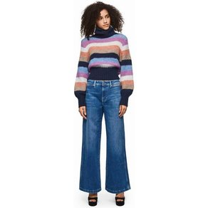 Pepe Jeans Schlagjeans GROOVE DUA LIPA X PEPE JEANS mit extra weitem Bein