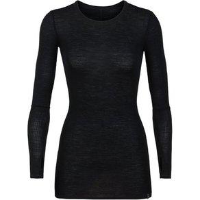 Icebreaker Shirt Luxe Rib LS Crew Damen