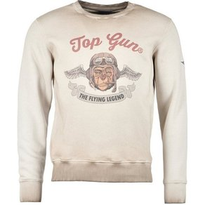 TOP GUN Sweatshirt Smoking Monkey