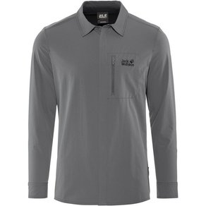 Jack Wolfskin Sweatshirt Hilltop Trail Shirt Herren
