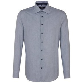 seidensticker Businesshemd Tailored Tailored Langarm Kentkragen Streifen