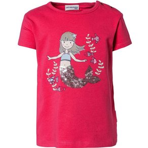 Salt & Pepper Baby T-Shirt mit Pailletten für Mädchen, Meerjungfrau
