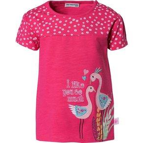 Salt & Pepper Baby T-Shirt mit Pailletten für Mädchen