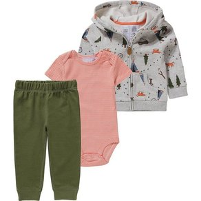 Carter`s Baby Set Sweatjacke + Body Sweathose für Jungen