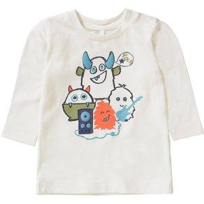 Name It Baby Langarmshirt NBMOLSIL für Jungen, organic cotton