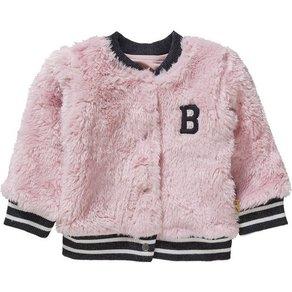 BESS Baby Teddyjacke für Mädchen