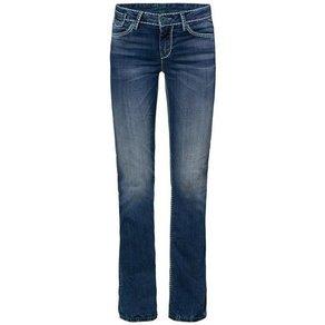 SOCCX Comfort-fit-Jeans CO LE mit breiten Nähten