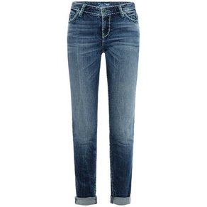 SOCCX 5-Pocket-Jeans HE DI mit Stretch-Anteil