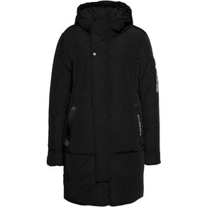 Freaky Nation Parka Cold Paris mit kontrastfarbenen Details