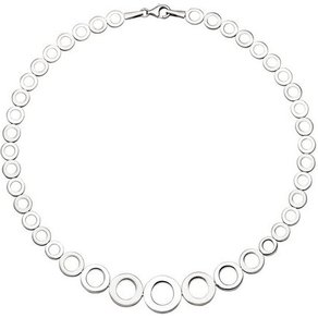 Jobo Collier 925 Silber im Verlauf 45 cm