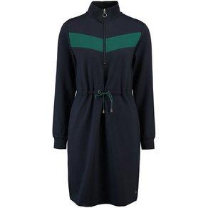 Garcia A-Linien-Kleid mit Reissverschluss und sportlichen Details