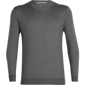 Icebreaker Pullover Quailburn V Sweater Herren