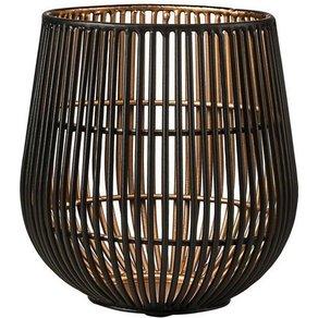 Butlers YOKO Metall Teelichthalter Höhe 13 cm
