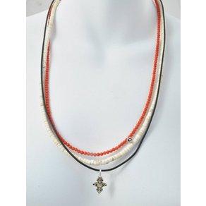 Adelia s Kette ohne Anhänger Magnesit Stein Halskette