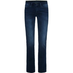 SOCCX Comfort-fit-Jeans CO LE mit Used-Waschung