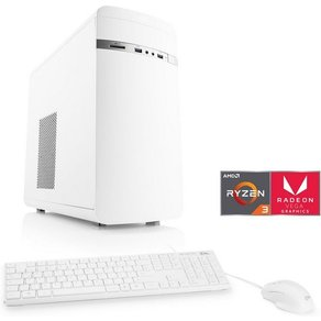 Csl Multimedia PC AMD Ryzen 3 2200G Vega 8 SSD 16 GB DDR4 Sprint T8193 Windows 10 Home