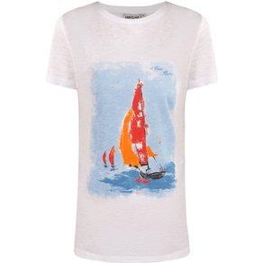 Finn Flare T-Shirt mit Front-Print