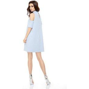 lemoniade Kleid mit ausgeschnittenen Ärmeln