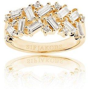 Sif Jakobs Jewellery Ring mit auffälligem Muster ANTELLA