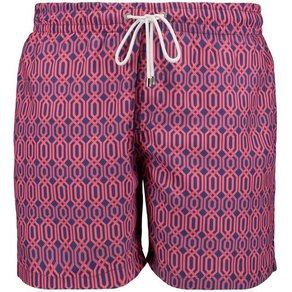 East Club London Badeshorts im stylischen Look HEXAGON