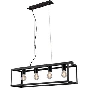 Briloner Leuchten Pendelleuchte Leslie 4-flammig für Wohnzimmer oder Esszimmer