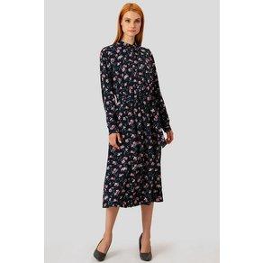 Finn Flare Kleid mit femininem Blumendruck