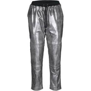 heine STYLE Lederhose Im Metallic Look