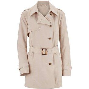 Classic Inspirationen Trenchcoat mit Zierriemen an Schultern und Ärmeln