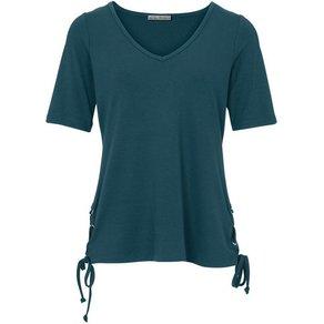 heine TIMELESS Shirt mit Schnürung