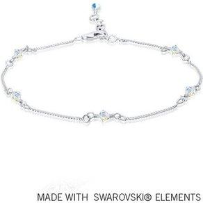 Elli Fussschmuck Swarovski Kristalle Sterling Silber
